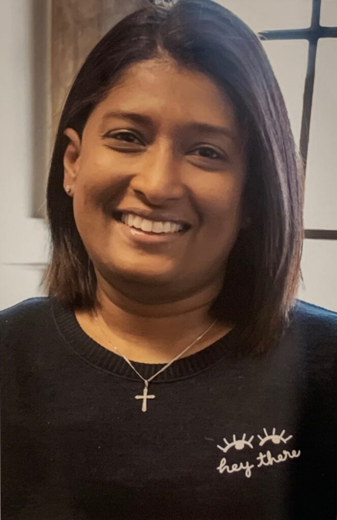 Parish Administrator: Ashani Weerasinghe